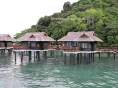 Pangkor Laut Resort is my favourite place to stay in Malaysia. Malaysia Resorts, Wood Boats, Boutique Hotels, Teak Wood, Resort Spa, Villa, Relax, Cabin, House Styles