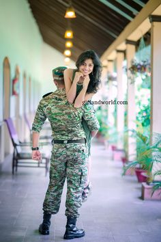 Loving an Army Officer comes with consequences. Yes, there is glitz and glamour but also pain and seperation. But do you know the best feeling when you love an Army officer and he loves you in return. Explore more of this Army Romance! Military Couples, Military Girlfriend, Love Girlfriend, Army Girlfriend Quotes, Military Deployment, Army Love Quotes, Indian Army Quotes, Soldier Love Quotes, Wedding Reception Ideas