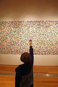 "Kathy Goodell ""Mesmer Eyes...A Requiem""    ArtPrize 2011"