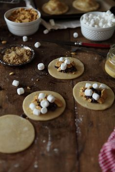 S'mores Hand Pies from Always With Butter.