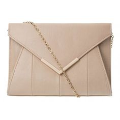 Diagonal Envelope Clutch ($28) ❤ liked on Polyvore featuring bags, handbags, clutches, accessories, envelope clutch, beige envelope clutch, beige purse, envelope clutch bag and beige handbags