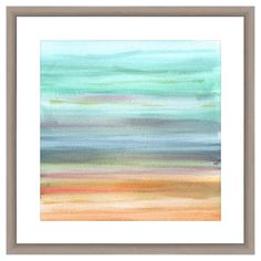Pastel Paint Brushes I 18X18 Wall Art : Target