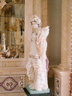 seashell angel http://www.itgirlweddings.com/blog/blushing-malibu-bridal-shower