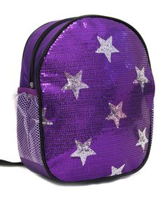 Take a look at this Purple Sequin Star Backpack by All For Dance on #zulily today! erika
