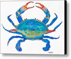 Blue Crab by Alexandra Nicole Newton