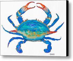 Blue Crab by Alexandra Nicole Newton