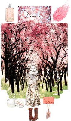 """""""Sakura Love"""" by irabaralla ❤ liked on Polyvore"""
