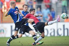 Mehr als 3000 Zuschauer sehen das 1:0 auf der Alm : Der DSC besiegt Hannover