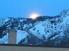 moonrise at Mt Olympus