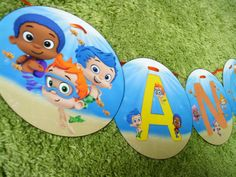 Hey, I found this really awesome Etsy listing at https://www.etsy.com/listing/168688779/bubble-guppies-personalized-birthday