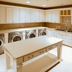 Large Laundry Room Design Ideas, Pictures, Remodel, and Decor
