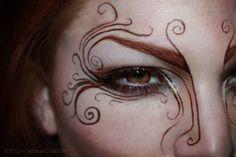 Elven Makeup, Fantasy Makeup, Fantasy Hair, Woodland Fairy Makeup, Woodland Elf, Rosto Halloween, Makeup Art, Beauty Makeup, Face Makeup