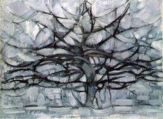 Piet Mondrian, Gray Tree