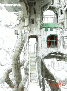 Art by Tsutomu Nihei 弐瓶 勉*  • Blog/Website | (https://twitter.com/tsutomu_nihei)  ★ || CHARACTER DESIGN REFERENCES™ (https://www.facebook.com/CharacterDesignReferences & https://www.pinterest.com/characterdesigh) • Love Character Design? Join the #CDChallenge (link→ https://www.facebook.com/groups/CharacterDesignChallenge) Share your unique vision of a theme, promote your art in a community of over 100.000 artists! || ★