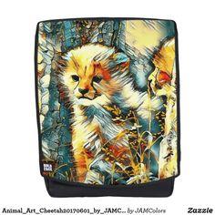 Animal_Art_Cheetah20170601_by_JAMColors Backpack