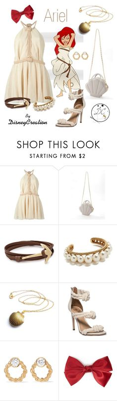 """Ariel by DisneyCreation"" by disneycreation ❤ liked on Polyvore featuring Jay Ahr, MIANSAI, Marc Jacobs, Foundrae and Forever 21"