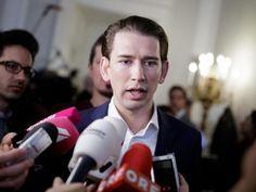 Österreichs Außenminister Kurz hat Neuwahlen in Österreich gefordert: Der Koalitionskrach in der schwarz-rote Regierung war diese Woche offen ausgebrochen.