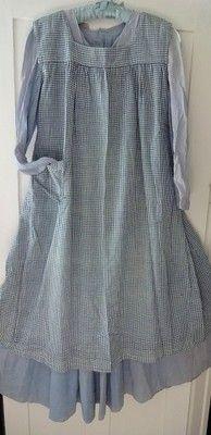Antique Prairie Dress and Pinafore