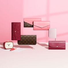 The Louis Vuitton small leather goods collection for Summer.     LOVE THE COLORS!!!