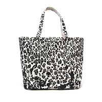 Stella McCartney Leopard Canvas Tote | Kirna Zabete