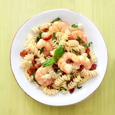 5 ingedients, 15 minutes   Rotini with Shrimp and Bacon  Liven up pasta with succulent shrimp and savory bacon.  Get the recipe! Read more: 5 Ingredient Recipes - Five Ingredient 15 Minute Recipes - Good Housekeeping