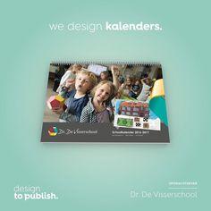Concept voor basisschool Dr. de Visserschool in Breda. Uniek zijn de zelf ontworpen en gemaakte illustraties die bij de huisstijl en sfeer horen. #designtopublish #illustration #concept