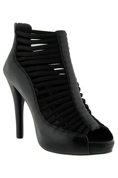 Damas Caged Ankle Boot