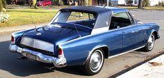 Classic Studebaker Hawks | 1963 Studebaker Hawk GT Supercharged | Gentry Lane Automobiles