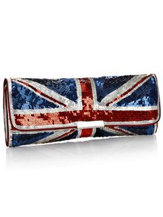 I want to marry this clutch. 1, because I love clutches (just minatures in general) & 2, UNION JACK