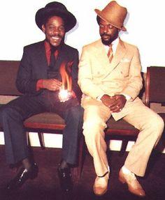 Big up Dennis Brown and Junior Delgado...