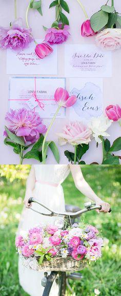 #Hochzeitseinladungen von www.papierhimmel.com Fotos von: Margit Hubner Fotografie Blumen von: Eva Steiger Meisterfloristin