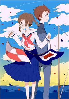Umi Matsuzaki and Shun Kazama | From Up on Poppy Hill [Kokuriko-zaka Kara]