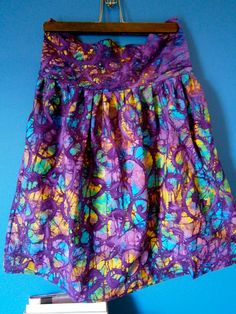 Tie Dye Purple Strapless Dress by DanielleSeevers on Etsy, $20.00