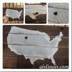 DIY United States Sign