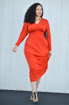 plus size fashion - girl with curves Curvy Girl Fashion, Plus Size Fashion, Womens Fashion, Gq Fashion, Modest Fashion, Plus Size Dresses, Plus Size Outfits, Mode Xl, Mode Glamour