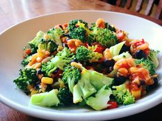 Add broccoli to your Jenny's Cuisine® Pasta Ole for a filling, but tasty meal. Thanks to Maryrose S., Jenny Craig member, for the photo and recipe!