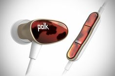 "when Polk Audio described the Nue Era in-ear headphones as a pair of buds that ""refines musical style"", they'd be right. clad in a jewel-like sculpted housing, the Polk Audio Nue In Ear Buds, In Ear Monitors, Color Plan, Audio, Wearable Device, Hearing Aids, Headset, In Ear Headphones, Accessories"