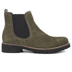 save off 021f2 9fcbe Skor · Green Comfort Chelsea Boot Olive hos Minfot.se