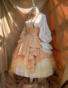 Time Temple -The Night Prayer- Vintage Gothic Lolita Skirt,Lolita Dresses, Kawaii Fashion, Cute Fashion, Lolita Fashion, Pretty Outfits, Pretty Dresses, Beautiful Dresses, Old Fashion Dresses, Fashion Outfits, Vintage Dresses