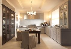 siematic beauxarts - love this shade of grey, gorgeous kitchen