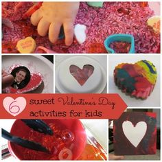 A Collection of Valentines Activities for Kids from Marnie at Carrots Are Orange