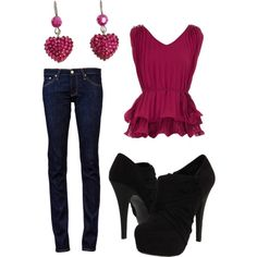"""Valentines."" by christinamarie0824 on Polyvore"