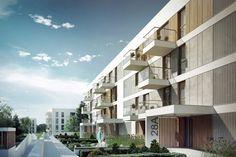 Budynek mieszkalny w Lublinie – Pracownia Projektowa Bień Architekci | Archinea | Architektura, architekci, projekty, biura, pracownie, design