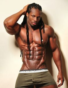Black african american men nude