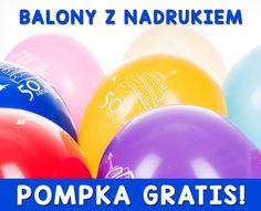 Balony LOGO balony z nadrukiem 1000 GRATIS reklama