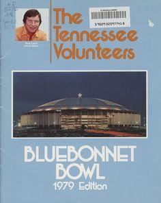 The Tennessee Football Programs: 1979 Football Press Guide - UT vs Purdue (Bluebonnet Bowl) Ut Football, Tennessee Football, Football Program, College Football, Tennessee Volunteers, Blue Bonnets, Over The Years, Coaching