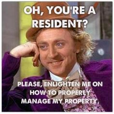 funny property management problems. So true!