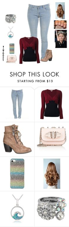 """Spending the day with Niall"" by harrystylesandliampayne ❤ liked on Polyvore featuring Paule Ka, maurices, Christian Louboutin, Glitzy Rocks, Betsey Johnson and Target"
