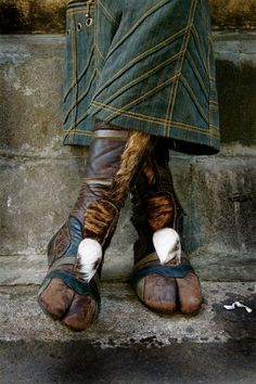amazing boots...too bad the company that makes them is no longer in business.