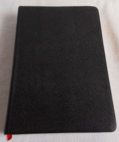 1964 Zondervan Marked Reference Bible Chain System Leather Cover Color Coded